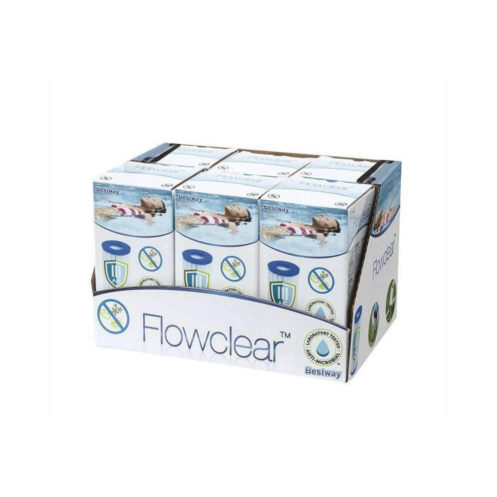 Bestway filtračná kartuša IV 9463 l/h (2ks) 58095