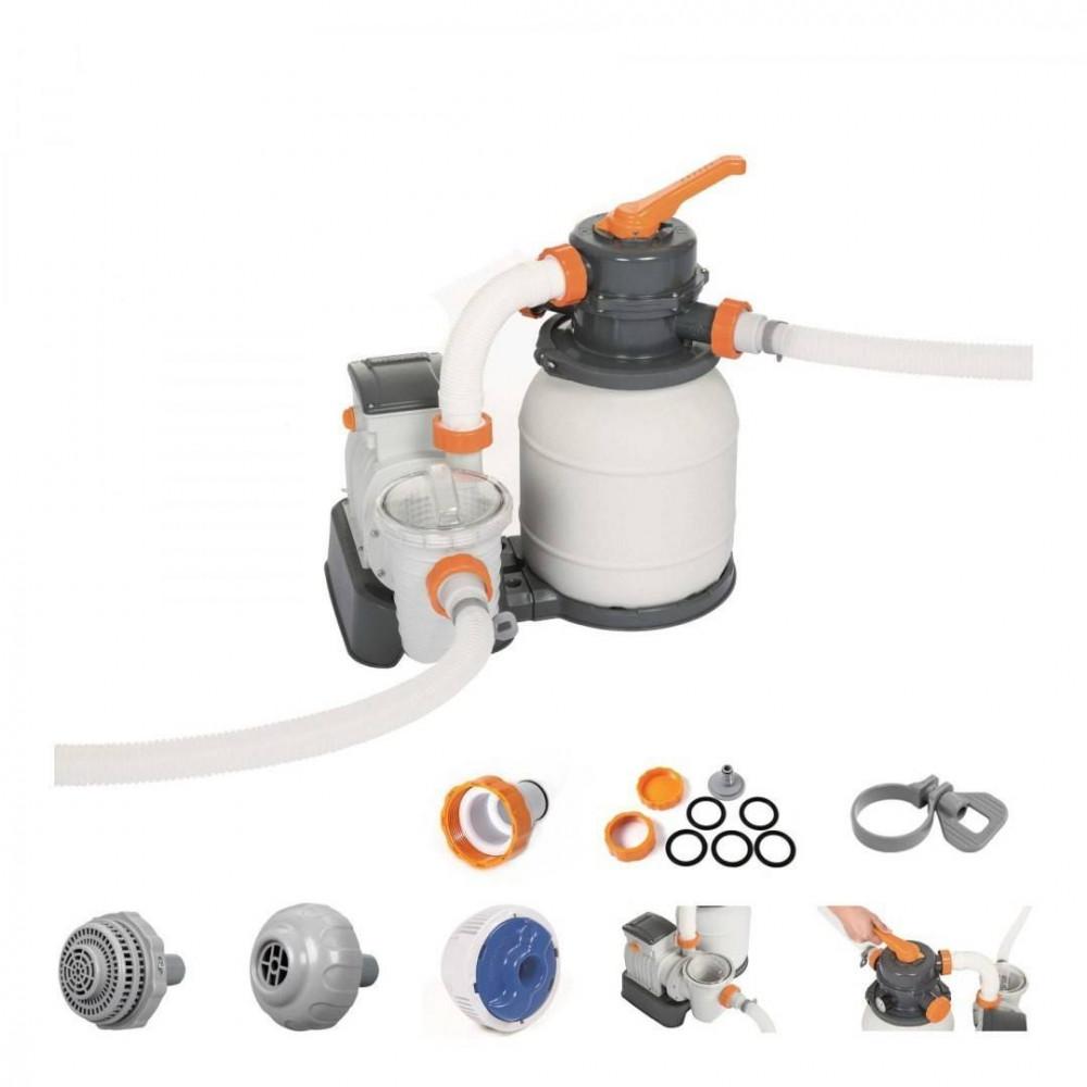 Bestway piesková filtrácia FLOWCLEAR™ 3785 l/h 58495